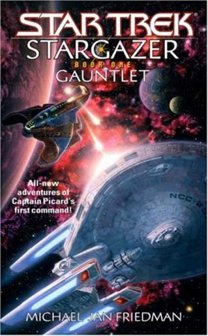 Star Trek Books - Gauntlet (Star Trek: Stargazer, Book 1)