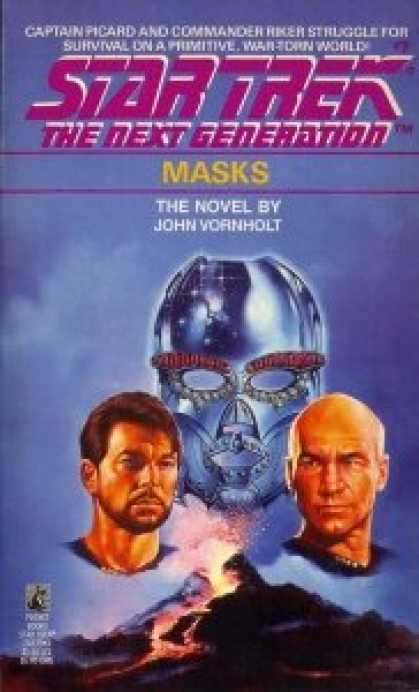 Star Trek Books - Masks (Star Trek The Next Generation, No 7)