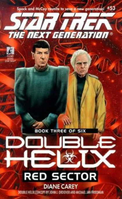 Star Trek Books - Red Sector (Star Trek The Next Generation: Double Helix, Book 3)