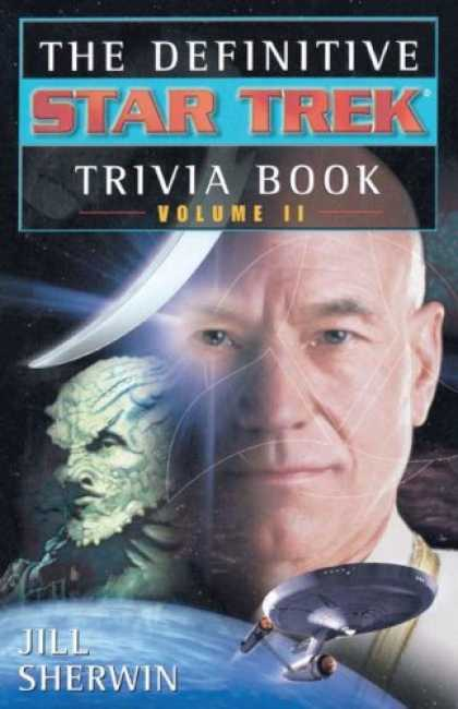 Star Trek Books - The Definitive Star Trek Trivia Book, Volume II