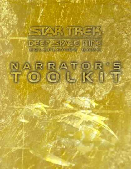Star Trek Books - Star Trek Deep Space 9 Roleplaying Game: Narrator's Tool Kit (Star Trek Deep Spa