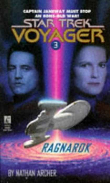 Star Trek Books - Ragnarok (Star Trek Voyager, No 3)