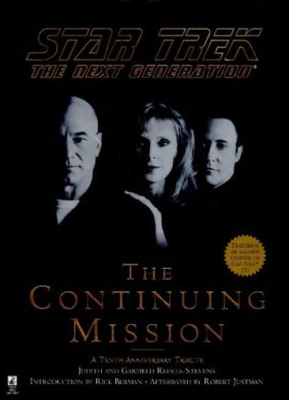 Star Trek Books - The Continuing Mission (Star Trek: The Next Generation)