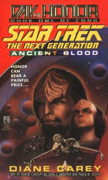 Star Trek Books - Ancient Blood: Day of Honor #1 (Star Trek The Next Generation)