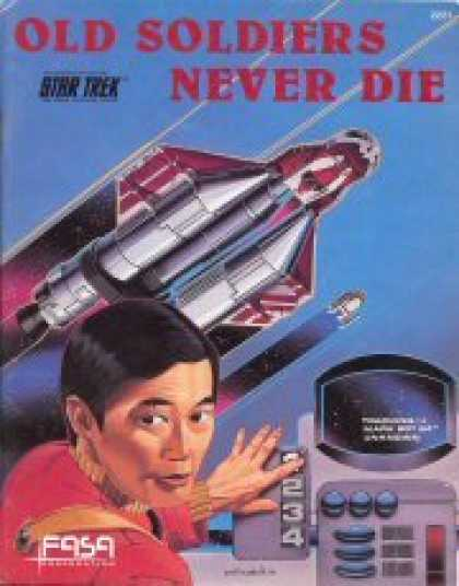 Star Trek Books - Old Soldiers Never Die/The Romulan War (Star Trek RPG 2-book set)