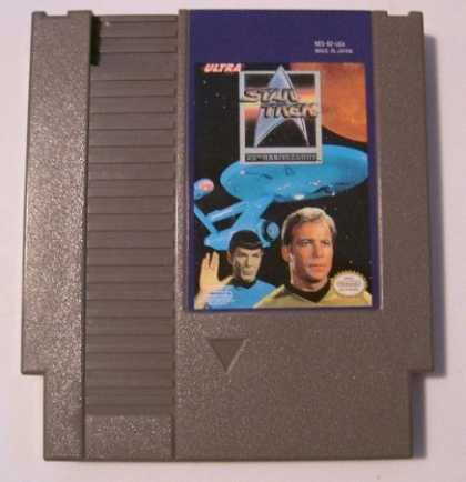 Star Trek Books - Star Trek: 25th Anniversary Nintendo NES Game