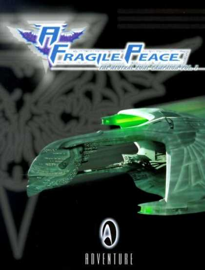 Star Trek Books - A Fragile Peace: The Neutral Zone Campaign (Star Trek Next Generation: Role Play