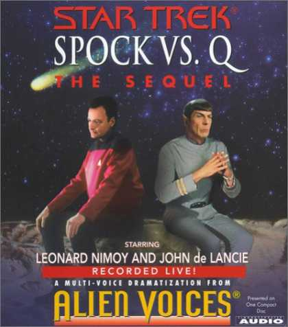 Star Trek Books - Spock Vs Q: The Sequel (Star Trek)