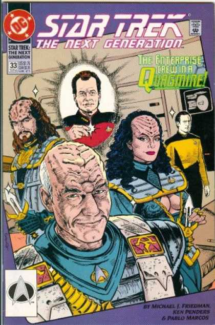 Star Trek Books - THE WAY OF THE WARRIOR (Star Trek: The Next Generation, 33)