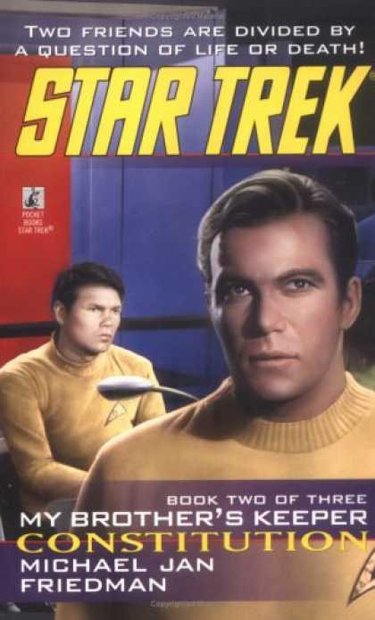 Star Trek Books - Constitution (Star Trek: My Brother's Keeper, Book 2)