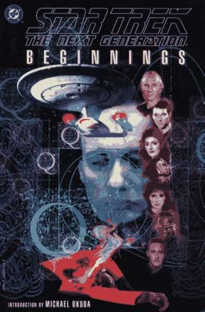 Star Trek Books - Beginnings (Star Trek: The Next Generation)