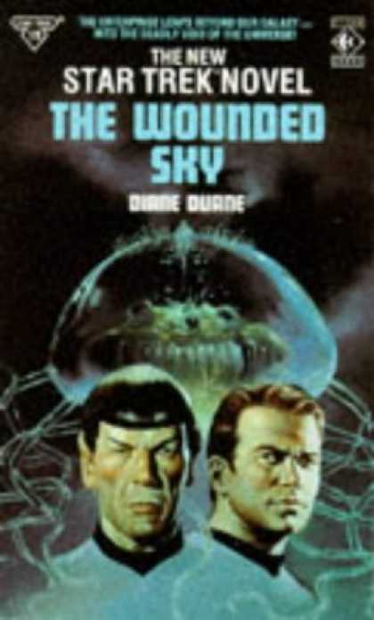 Star Trek Books - STAR TREK 19: THE WOUNDED SKY.