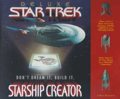 Star Trek Books - Star Trek: Starship Creator Deluxe Hybrid
