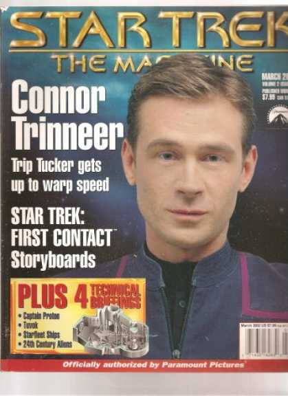 Star Trek Books - Star Trek the Magazine, March 2002, Vol 2, #11