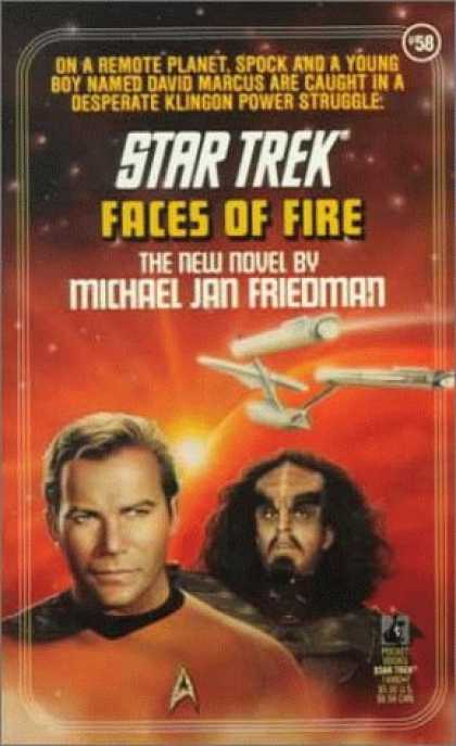 Star Trek Books - Faces of Fire (Star Trek, Book 58)