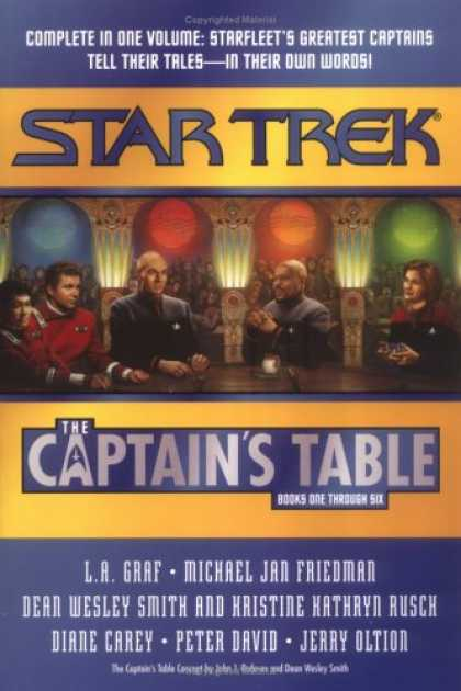 Star Trek Books - The Captain's Table Omnibus (Star Trek)