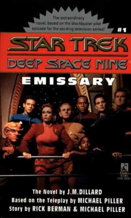 Star Trek Books - Emissary (Star Trek Deep Space Nine Ser., No. 1)