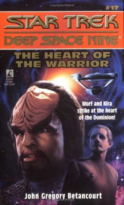 Star Trek Books - The Heart of the Warrior (Star Trek: Deep Space Nine, No 17)