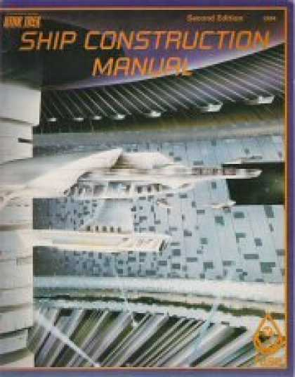 Star Trek Books - Ship Construction Manual, 2nd Edition (Star Trek RPG)