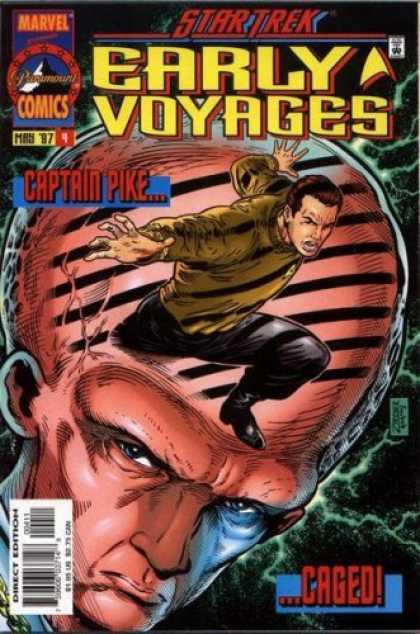 Star Trek Books - Star Trek Early Voyages #4 : Nor Iron Bars a Cage (Marvel Comics)a