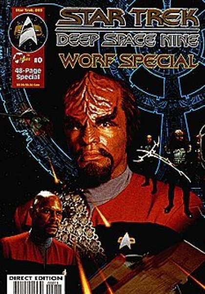 Star Trek Books - Star Trek Deep Space Nine - Worf Special #0 : Bonds of Honor (Malibu Comics)