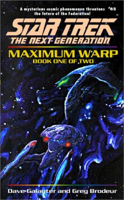 Star Trek Books - Maximum Warp Book One: Dead Zone (Star Trek The Next Generation, No 62)