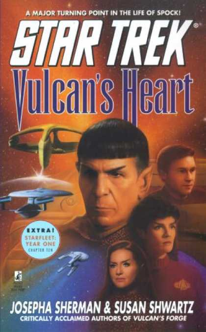 Star Trek Books - Vulcan's Heart (Star Trek)