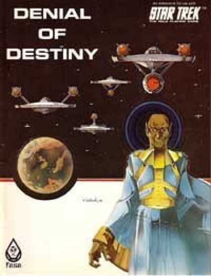 Star Trek Books - Denial Of Destiny (Star Trek RPG)
