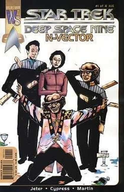 Star Trek Books - STAR TREK DEEP SPACE NINE N-VECTOR #1-4 complete story (STAR TREK DEEP SPACE NIN
