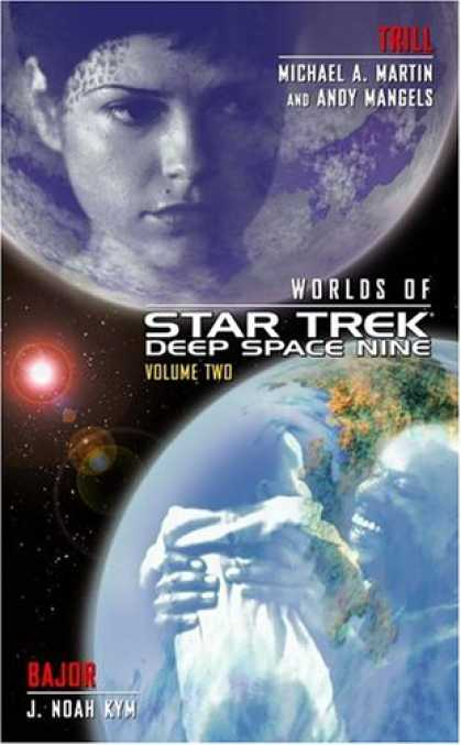 Star Trek Books - Trill and Bajor (Worlds of Star Trek: Deep Space Nine, Vol. 2)