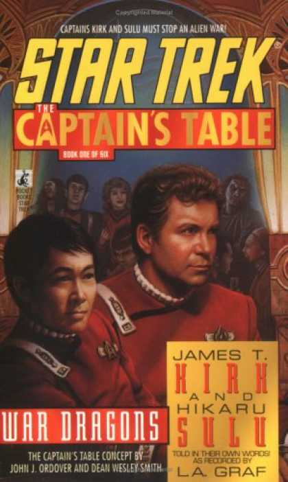 Star Trek Books - War Dragons (Star Trek: The Captain's Table, Book 1)