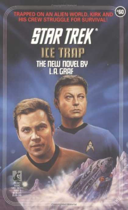 Star Trek Books - Ice Trap (Star Trek, Book 60)