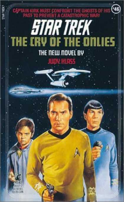 Star Trek Books - The Cry of the Onlies (Star Trek, Book 46)