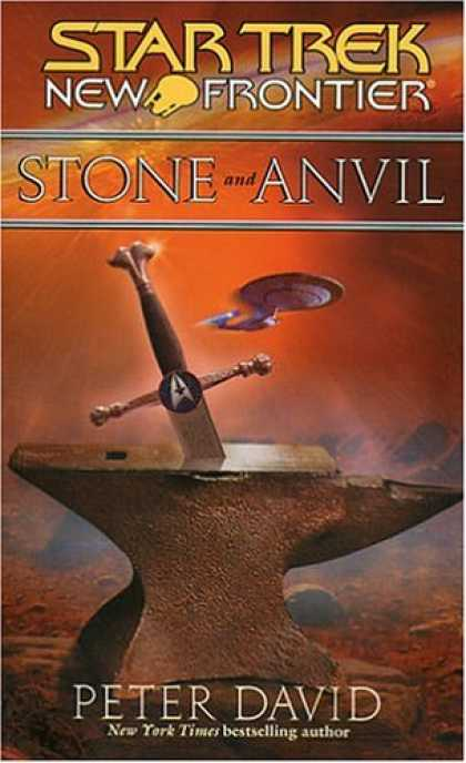 Star Trek Books - Stone and Anvil (Star Trek: New Frontier)