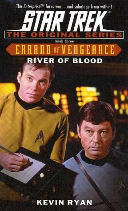 Star Trek Books - River of Blood (Star Trek The Original Series: Errand of Vengeance, Book 3)