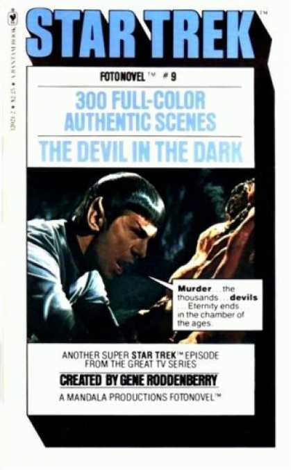 Star Trek Books - The Devil in the Dark (Star Trek Fotonovel #9)