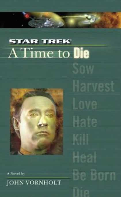 Star Trek Books - A Time to Die (Star Trek The Next Generation)