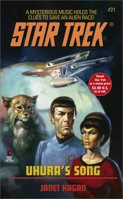 Star Trek Books - Uhura's Song (Star Trek21)