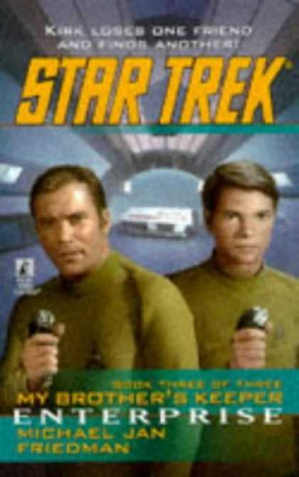 Star Trek Books - Enterprise (Star Trek: My Brother's Keeper, Book 3)
