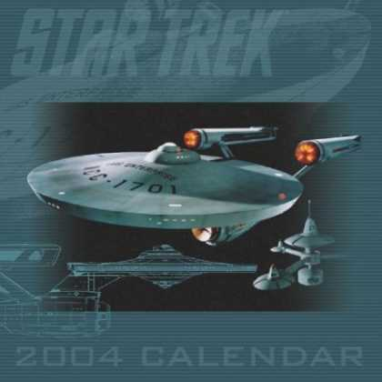 Star Trek Books - Star Trek 2004 Wall Calendar