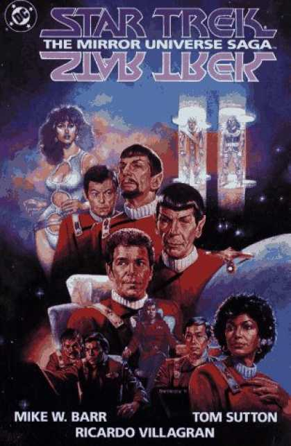 Star Trek Books - Star Trek: The Mirror Universe Saga (Star Trek (DC Comics))