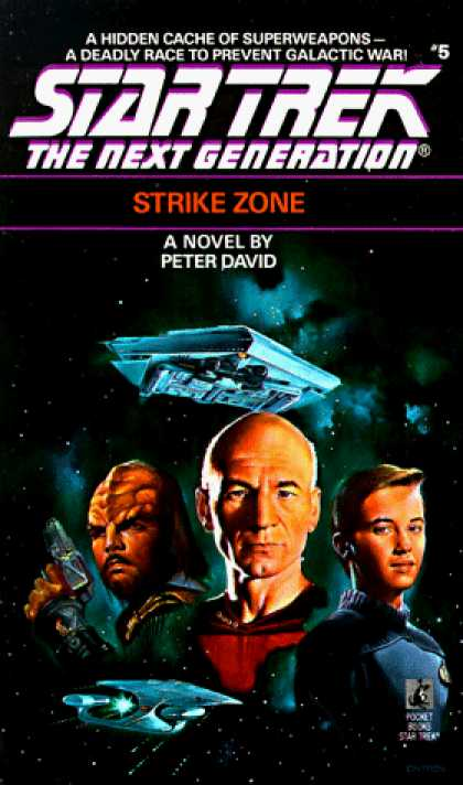 Star Trek Books - Strike Zone (Star Trek The Next Generation, No 5)