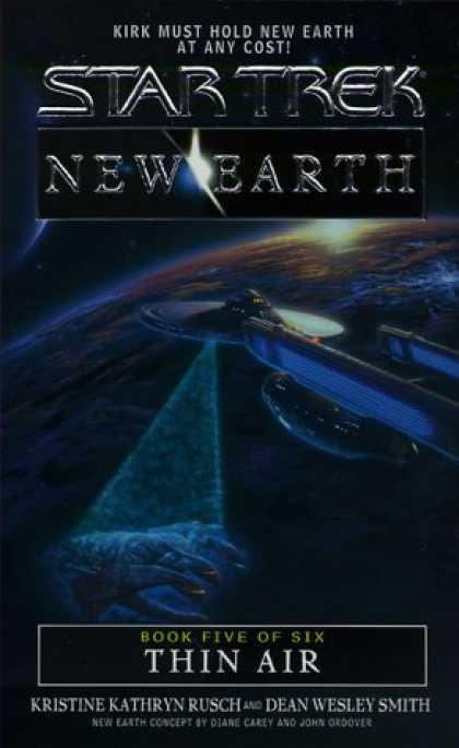 Star Trek Books - Thin Air (Star Trek: New Earth, Book 5)
