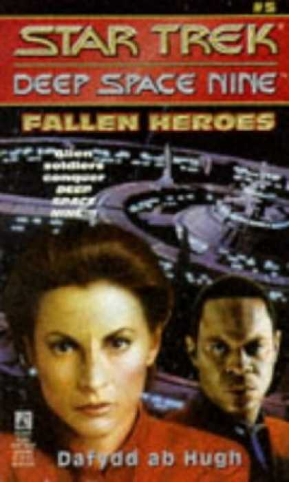 Star Trek Books - Fallen Heroes (Star Trek Deep Space Nine, No 5)