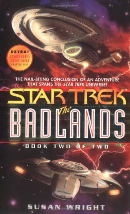 Star Trek Books - The Badlands Book Two of Two (Star Trek)