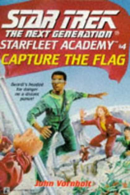 Star Trek Books - Capture the Flag: A NOVEL (Star Trek the Next Generation)