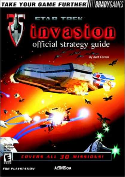 Star Trek Books - Star Trek Invasion Official Strategy Guide