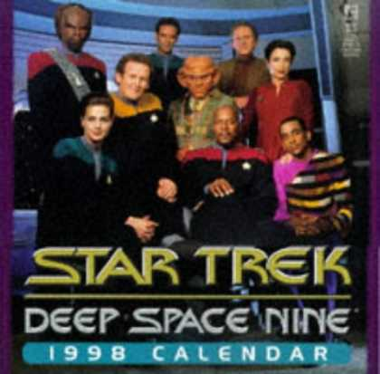 Star Trek Books - STAR TREK DEEP SPACE NINE 1998 CALENDAR (Star Trek 1988 Wall Calendars)