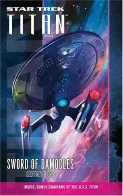 Star Trek Books - Sword of Damocles (Star Trek: Titan, Book 4)