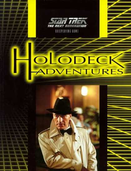 Star Trek Books - Holodeck Adventures (Star Trek: the Next Generation Roleplaying Game)